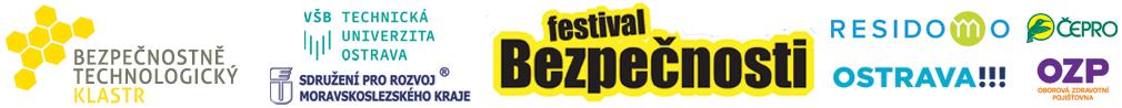 Festival Bezpečnosti -  Současnost a budoucnost bezpečnosti Moravskoslezského kraje Logo